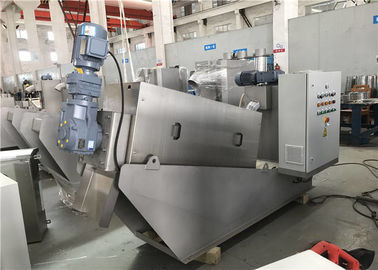 Cina 0.36-6 KW Industrial Screw Press, Wastewater Screw Press Kondisi Disesuaikan Baru pabrik
